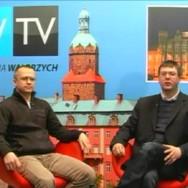 Mariusz Trzeciakiewicz gościem dnia w Telewizji Wałbrzych