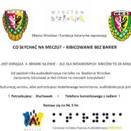 Kibicowanie Bez Barier… audiodeskrypcja na meczach koszykówki!