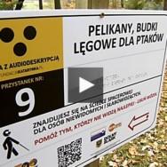 Otwarcie trasy z audiodeskrypcją we wrocławskim ZOO. Materiał wideo…