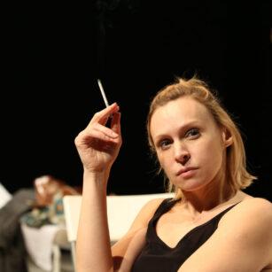 """Teatr Młyn, spektakl """"Gabinet"""" z napisami 27-28.05."""
