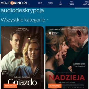 Rodzina kinomaniaków. Filmy z AD i napisami dostępne za darmo na MOJEeKINO