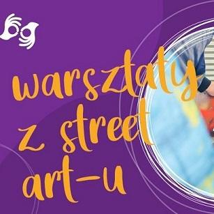 Warsztaty ze Street Art.-u. Z PJM. Biblioteka w Lublinie. 3, 4 lipca 2021r. godz. 14.