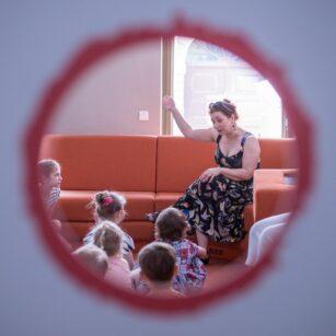 Ojce i Dziatki. Międzypokoleniowy Festiwal Litartury Dziecięcej z PJM i dla niewidzących